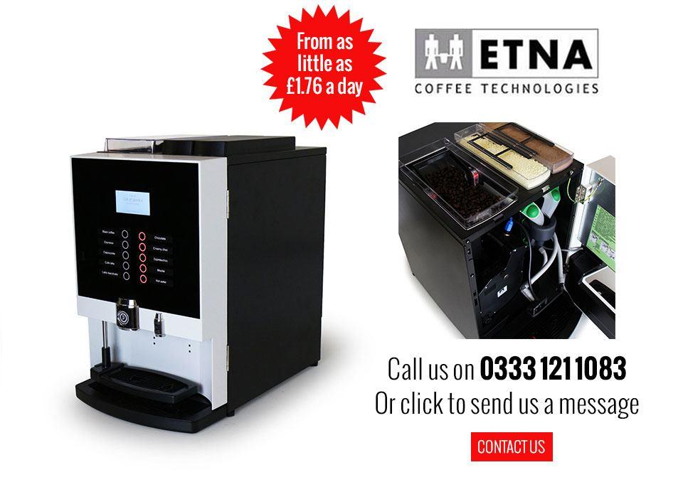 Etna Dorado Espresso Compact Bean To Cup Machine The