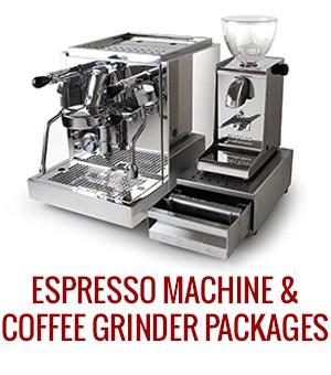 Espresso Machine & Coffee Grinder Package