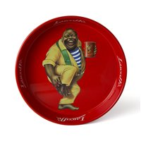 Lucaffe Classic Round Red Tray