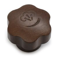 La Pavoni Lever Steam Tap Knob (Wood) - 475022