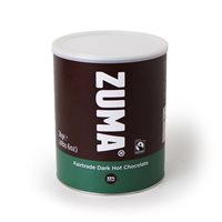 Zuma Fairtrade Hot Chocolate 2Kg Tin