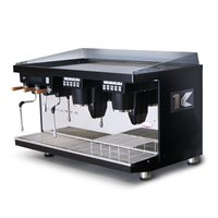Elektra KUP Auto 2 Group Coffee Machine - Black (UK 240V)