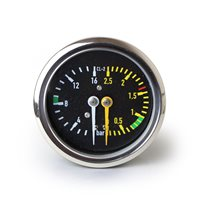 La Rocca Due Dual Pressure Gauge 59mm