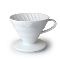 Hario V60 Ceramic Coffee Dripper 02 White - VDC-02W