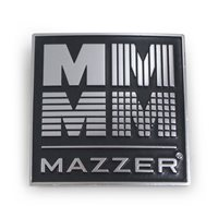 Mazzer 4M Grinder Badge (Black & Chrome) OEM - S000TAA02