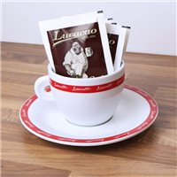 Lucaffe Hot Chocolate & Cup Pack - 1