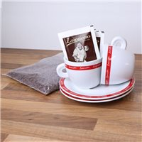 Lucaffe Hot Chocolate & Cups Pack - 2