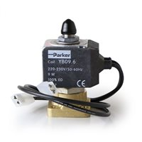 Universal Parker 3 Way Group Solenoid Valve with Wires - 393134J