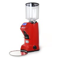 Eureka Zenith 65E HS 240V On Demand Coffee Grinder - Red