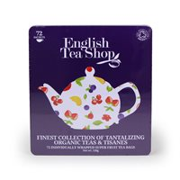 English Tea Shop Organic Assorted Super Fruits Tea Bags x 72