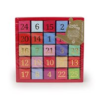 English Tea Shop Organic Christmas (Numerical) Advent Calendar - 25 x Pyramid Tea Bags