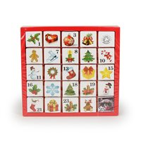English Tea Shop Organic Christmas (Ornaments) Advent Calendar - 25 x Pyramid Tea Bags