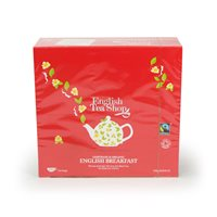 English Tea Shop Organic Fairtrade English Breakfast  - 100 x String & Tag Tea Bags