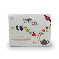 English Tea Shop Organic Super Tea Collection - 48 x Envelope Tea Bags