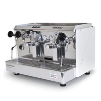 Espressomat Classica 2 Group Automatic Espresso Machine (White)