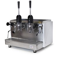 Espressomat Classica Piston 2 Gp Lever Espresso Machine (White)