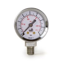 La Pavoni Lever Piston Shaft Pressure Gauge 0-16 Bar - 5530014