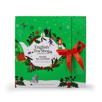 English Tea Shop Organic Book Style Christmas Advent Calendar - 25 x Pyramid Tea Bags