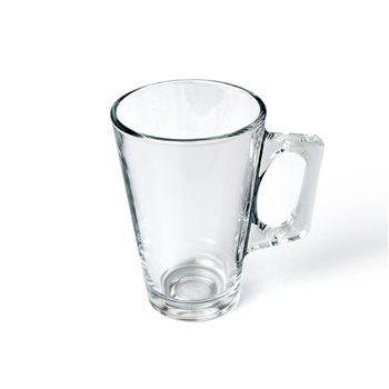 Olympia 8.75oz Glass Latte Mug x 12  - Click to view a larger image