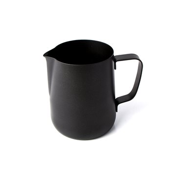 Olympia Black Teflon Coated Milk Jug 0.57 ltr   - Click to view a larger image