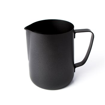 Universal Black Teflon Coated Milk Jug 1.0 Ltr  - Click to view a larger image