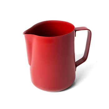 Universal Red Teflon Coated Milk Jug - 1.0ltr/32oz  - Click to view a larger image