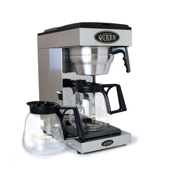 Coffee Queen Coffee Brewer Twin Hotplate Hand Fill M2