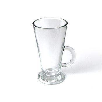 Olympia Colombia 10oz V Shaped Latte Glass x 12  - Click to view a larger image