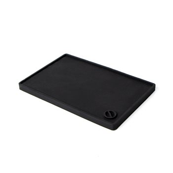 Crema Pro SMALL Black Rubber Coffee Tamping Mat  - Click to view a larger image