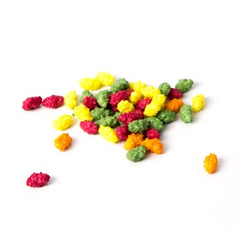 Dinkum Chocolate Fruit Crispies 320g Bag  - Click to view a larger image