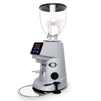 Fiorenzato MC F64E Grey Electronic Coffee Grinder 220v UK Plug Grey - Click to view a larger image