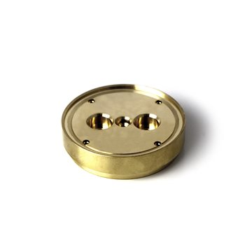 Gaggia Brass Shower Plate Holder 57x14mm - WGA16G1002  - Click to view a larger image