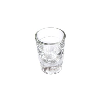 Universal Barista Shot Glass 2oz Lined Height 75mm  - Click to view a larger image