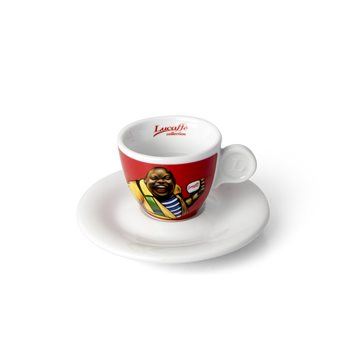 Lucaffe Coffection Espresso Cup and Saucer x 6 - GA4  - Click to view a larger image