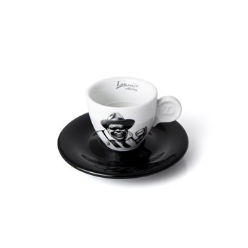 Lucaffe Mr Exclusive Espresso Cup & Saucer x 6 - V0842  - Click to view a larger image