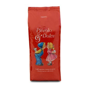 Lucaffe Piccolo & Dolce Espresso Beans 1Kg - V6727  - Click to view a larger image