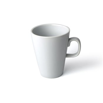 Olympia 11oz 310ml White Latte Mug x 12  - Click to view a larger image