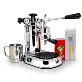 La Pavoni Lever Professional (Chrome) 240v - PL24  - Click to view a larger image