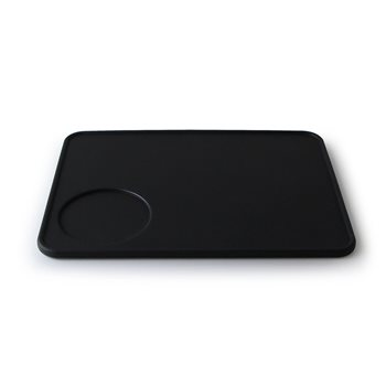 Universal Silicon Coffee Tamping Mat 200x150mm Various Colours Black - Click to view a larger image