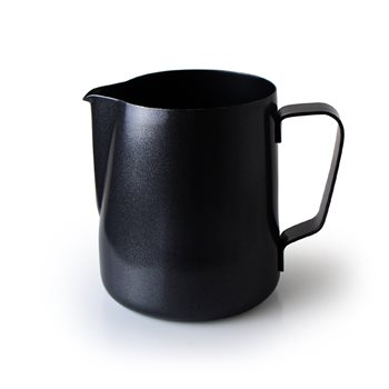Universal Black PTFE Coated Frothing Jug 0.35ltr   - Click to view a larger image
