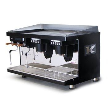 Elektra KUP Auto 2 Group Coffee Machine - Black (UK 240V)  - Click to view a larger image