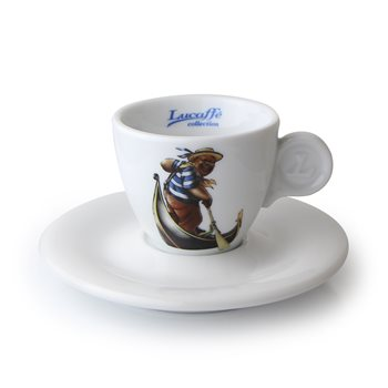 Lucaffe Exquisite Espresso Cup and Saucer x 6 - GA14