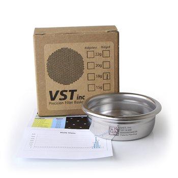 VST Precision 18 Gram Filter Basket - Ridged  - Click to view a larger image