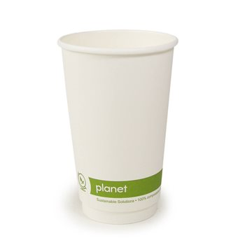 Go-pak PLA Lined 16oz Disposable Cup x 500  - Click to view a larger image