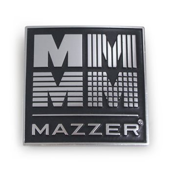 Mazzer 4M Grinder Badge (Chromed) OEM - S000TAA02  - Click to view a larger image