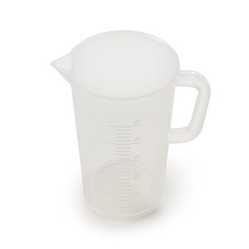 Universal Plastic Jug 50ml Lined - Shot Pot