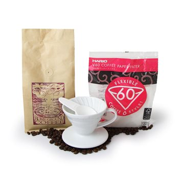 Hario V60 Drip (01) Package 1  - Click to view a larger image