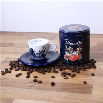 Lucaffe Blucaffe Coffee & Espresso Cup (Beans)  - Click to view a larger image