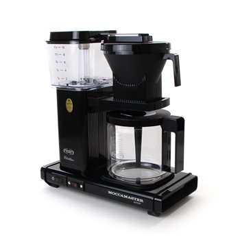 Moccamaster KBG 741 AO Filter Coffee Machine (Black) - 240V  - Click to view a larger image
