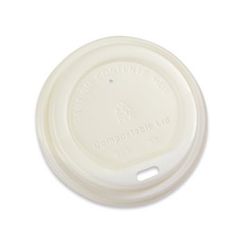 Go-pak Compostable 8oz Sip Thru Lid x 1000  - Click to view a larger image